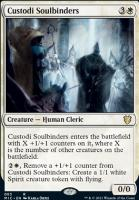 Innistrad: Midnight Hunt Commander Decks: Custodi Soulbinders