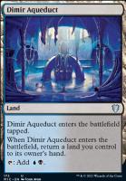Innistrad: Midnight Hunt Commander Decks: Dimir Aqueduct