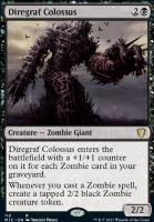 Innistrad: Midnight Hunt Commander Decks: Diregraf Colossus