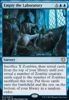 Innistrad: Midnight Hunt Commander Decks: Empty the Laboratory