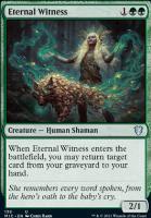 Innistrad: Midnight Hunt Commander Decks: Eternal Witness