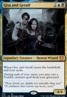 Innistrad: Midnight Hunt Commander Decks: Gisa and Geralf
