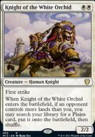 Innistrad: Midnight Hunt Commander Decks: Knight of the White Orchid