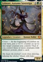 Innistrad: Midnight Hunt Commander Decks: Leinore, Autumn Sovereign