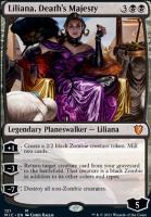 Innistrad: Midnight Hunt Commander Decks: Liliana, Death's Majesty