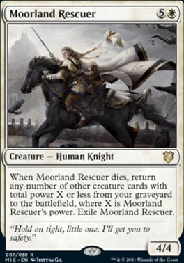 Innistrad: Midnight Hunt Commander Decks: Moorland Rescuer