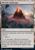 Innistrad: Midnight Hunt Commander Decks: Myriad Landscape