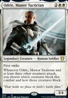 Innistrad: Midnight Hunt Commander Decks: Odric, Master Tactician