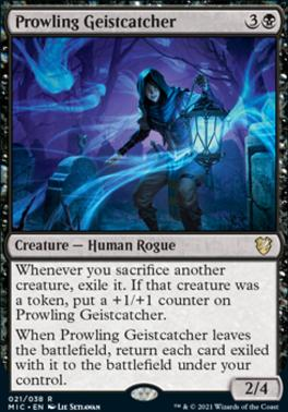Innistrad: Midnight Hunt Commander Decks: Prowling Geistcatcher