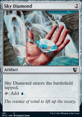Innistrad: Midnight Hunt Commander Decks: Sky Diamond