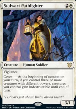 Innistrad: Midnight Hunt Commander Decks: Stalwart Pathlighter