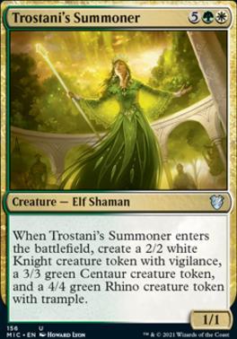 Innistrad: Midnight Hunt Commander Decks: Trostani's Summoner