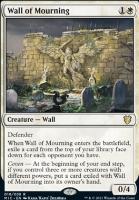 Innistrad: Midnight Hunt Commander Decks: Wall of Mourning