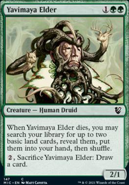 Innistrad: Midnight Hunt Commander Decks: Yavimaya Elder