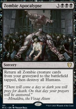 Innistrad: Midnight Hunt Commander Decks: Zombie Apocalypse
