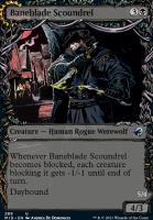 Innistrad: Midnight Hunt Variants: Baneblade Scoundrel (Showcase)
