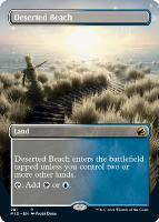 Innistrad: Midnight Hunt Variants: Deserted Beach (Borderless)