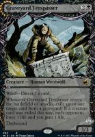 Innistrad: Midnight Hunt Variants: Graveyard Trespasser (Showcase)