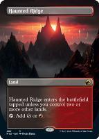 Innistrad: Midnight Hunt Variants: Haunted Ridge (Borderless)