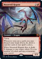 Innistrad: Midnight Hunt Variants Foil: Moonveil Regent (Extended Art)