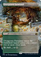 Innistrad: Midnight Hunt Variants Foil: Overgrown Farmland (Borderless)