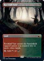 Innistrad: Midnight Hunt Variants Foil: Rockfall Vale (Borderless)