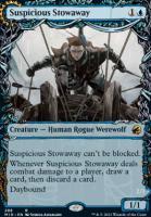 Innistrad: Midnight Hunt Variants: Suspicious Stowaway (Showcase)