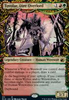 Innistrad: Midnight Hunt Variants Foil: Tovolar, Dire Overlord (Showcase)