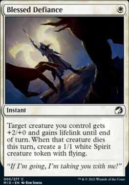 Innistrad: Midnight Hunt: Blessed Defiance