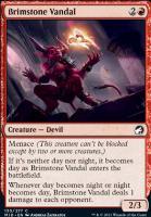 Innistrad: Midnight Hunt: Brimstone Vandal