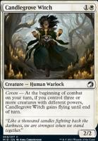 Innistrad: Midnight Hunt Foil: Candlegrove Witch