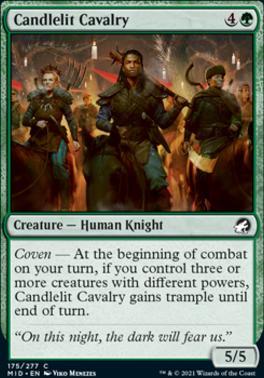 Innistrad: Midnight Hunt: Candlelit Cavalry