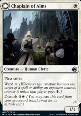 Innistrad: Midnight Hunt: Chaplain of Alms