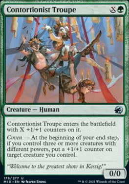 Innistrad: Midnight Hunt: Contortionist Troupe