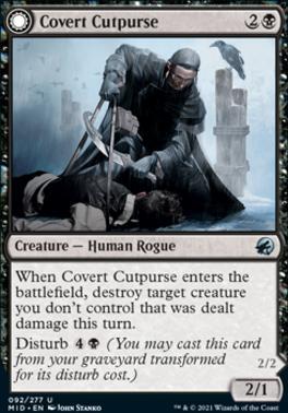Innistrad: Midnight Hunt: Covert Cutpurse