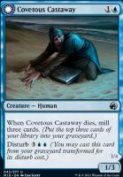 Innistrad: Midnight Hunt Foil: Covetous Castaway