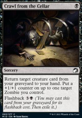 Innistrad: Midnight Hunt: Crawl from the Cellar