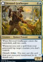 Innistrad: Midnight Hunt: Devoted Grafkeeper