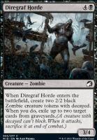 Innistrad: Midnight Hunt: Diregraf Horde