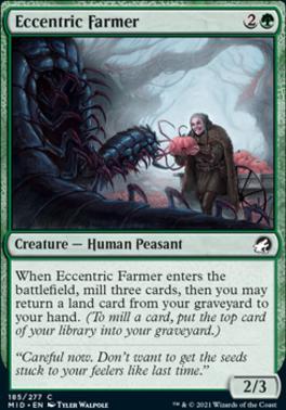 Innistrad: Midnight Hunt: Eccentric Farmer