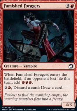 Innistrad: Midnight Hunt: Famished Foragers