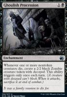 Innistrad: Midnight Hunt Foil: Ghoulish Procession