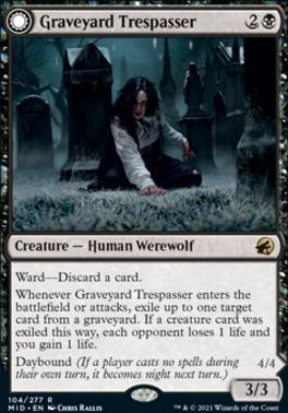 Innistrad: Midnight Hunt: Graveyard Trespasser
