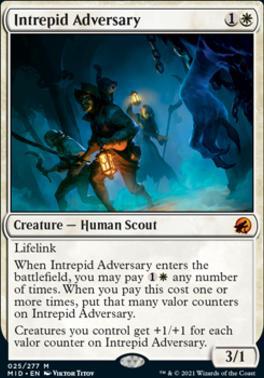 Innistrad: Midnight Hunt: Intrepid Adversary