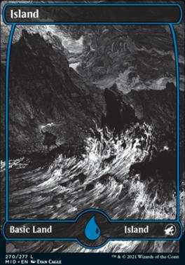 Innistrad: Midnight Hunt Foil: Island (270)