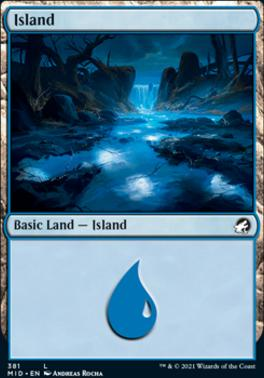 Innistrad: Midnight Hunt: Island (381)