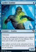 Innistrad: Midnight Hunt Foil: Larder Zombie