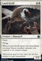 Innistrad: Midnight Hunt Foil: Loyal Gryff