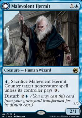 Innistrad: Midnight Hunt: Malevolent Hermit