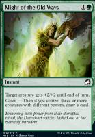 Innistrad: Midnight Hunt Foil: Might of the Old Ways